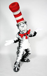 The Cat in the Hat mascot, copyright Random House and Costume Specialists Inc.