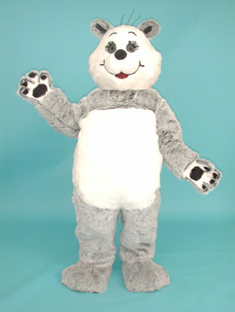 Amanda Panda Custom Promotional Mascot Costume Available as Rental
