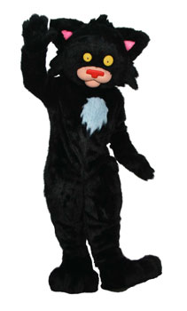 Bad Kitty Custom Promotional Mascot Costume Available as Rental