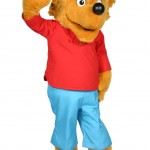 Berenstain Bears Brother Bear Promotional Mascot Character Costume