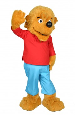 Berenstain Bears Brother Bear Promotional Mascot Character Costume  sc 1 st  Costume Specialists : berenstain bears costume  - Germanpascual.Com