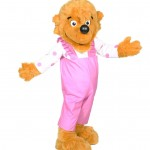 Berenstain Bear Sister Bear Promotional Mascot Character Costume