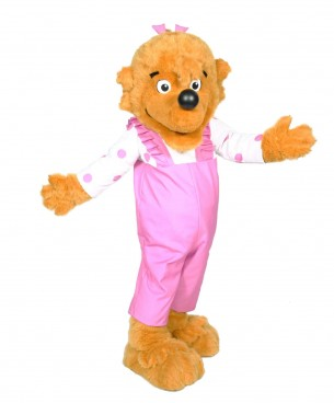 Berenstain Bear Sister Bear Promotional Mascot Character Costume  sc 1 st  Costume Specialists & Berenstain Bears | Character Visit |Custom Mascot | Custom Mascots ...