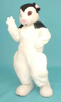 Bunnicula the vampire-bunny mascot costume