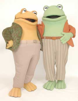 Frog and Toad Custom Promotional Mascot Costume Available as Rental