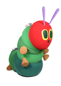 Very Hungry Caterpillar Custom Mascot and Promotional Character Costume