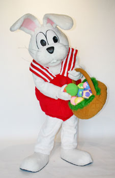 Peter Cottontail Custom Promotional Mascot Costume Available As Rental