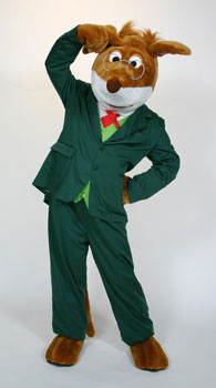 Geronimo Stilton Mascot Costume