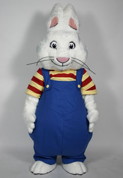 Max (Rosemary Wells) Custom Mascot and Promotional Character Costume : max and ruby halloween costumes  - Germanpascual.Com