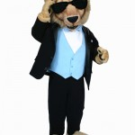 Columbia University Lion (Tux) custom mascot