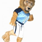 Columbia Lion University custom mascot