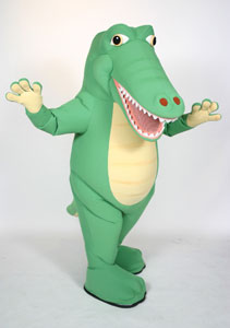 Rent this Fun Alligator Mascot for your Costume Event