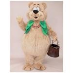 Cherry Valley Lodge Berry Bear Mascot Costume