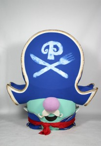 Pirate Pa Grape Promotional Custom Mascots