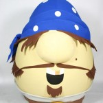 Pirate Mr. Lunt Promotional Custom Mascots