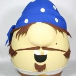 Pirate Mr. Lunt Promotional Custom Mascots