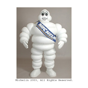 Michelin Man Custom Corporate Company Mascot