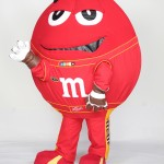 Racing Red M M&M's Custom Corporate Costume