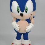 Sonic Sega Custom Corporate Company Mascot