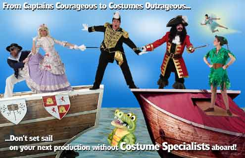 Theater Opera Musical Dance Custom Costumes