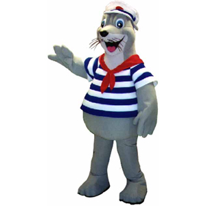 Whiskers Ocean Park Hong Kong Custom Corporate Mascot