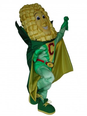 Captain Cornelius Corn Growers of America custom corporate mascot costume