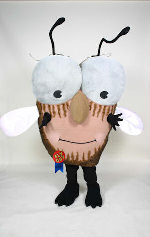 Fly Guy Tedd Arnold Scholastic Trade Mascot Costume Character