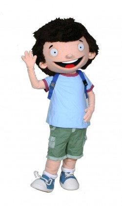 George Brown Class Clown Custom Mascot and Promotional Character Costume