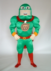 Money Maker Man M3 Custom Mascot Costume Character