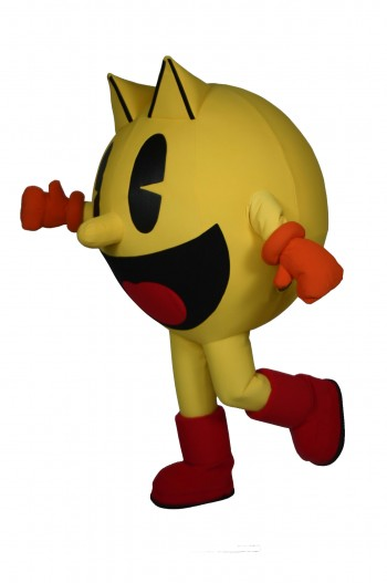 how to make a ms pacman costume