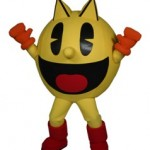 PacMan Namco Cybertainment Inc. Mascot Costume Character