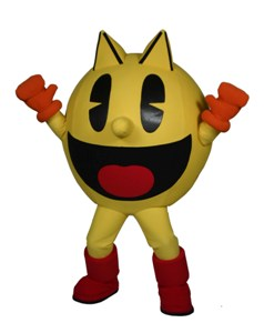 PacMan Namco Cybertainment Inc.  Custom Corporate Company Mascot