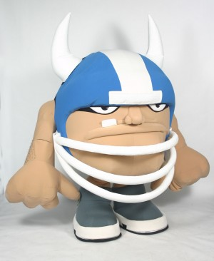 Torgogog 2008 NFL Super Bowl Custom Corporate Company Mascot