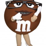 Ms Brown M&M's Custom Corporate Mascot 1