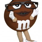 Ms Brown M&M's Custom Corporate Mascot 2