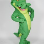 PediaSure Nutripals Alligator Custom Corporate Mascot