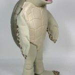 Luna the Green Sea Turtle for Gumbo Limbo Nature Center custom corporate mascot 2