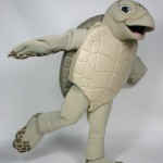 Luna the Green Sea Turtle for Gumbo Limbo Nature Center custom corporate mascot 5
