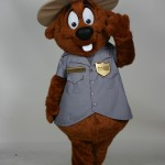 Major Muskrat River Raisin National Battlefield Park custom corporate mascot 2