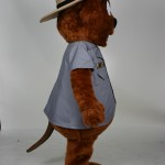 Major Muskrat River Raisin National Battlefield Park custom corporate mascot 3