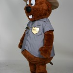 Major Muskrat River Raisin National Battlefield Park custom corporate mascot 4