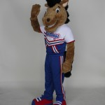 St. Vincent De Paul High School Mustang Team Mascot