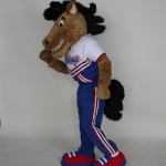 St. Vincent De Paul High School Mustang mascot