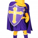 Custom Mascot for Archbishop Riordan High School Knight San Francisco