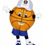 Basketball Head Custom Mascot for Atlantis Bahamas