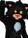 Bad Kitty Mascot Costume