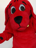 Clifford the Big Red Dog Mascot Costume