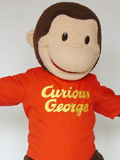 Curiouse George Mascot Costume