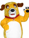 Martha the Talking Dog Mascot Costume