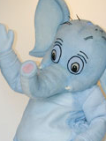 Saggy Baggy Elephant Mascot Costume